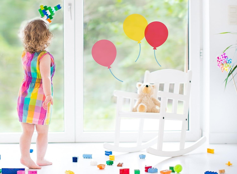 Fenstersticker Sticker Fensteraufkleber F012 3 Luftballons