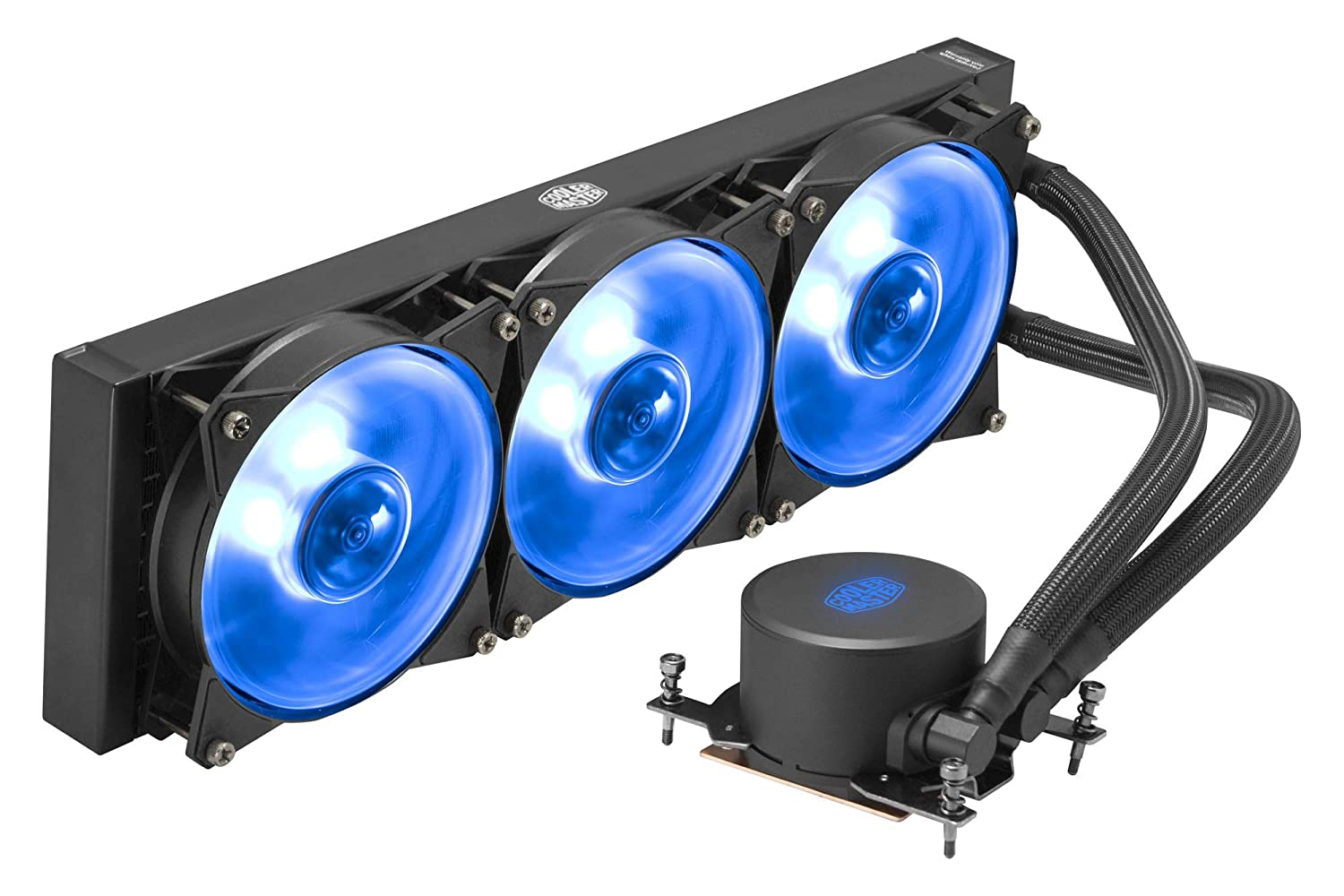 Cooler Master MasterLiquid ML360 RGB TR4 Edition Water Cooling Integrated CPU Cooler [AMD TR4 Compatible] FN1253 MLX-D36M-A20PC-T1
