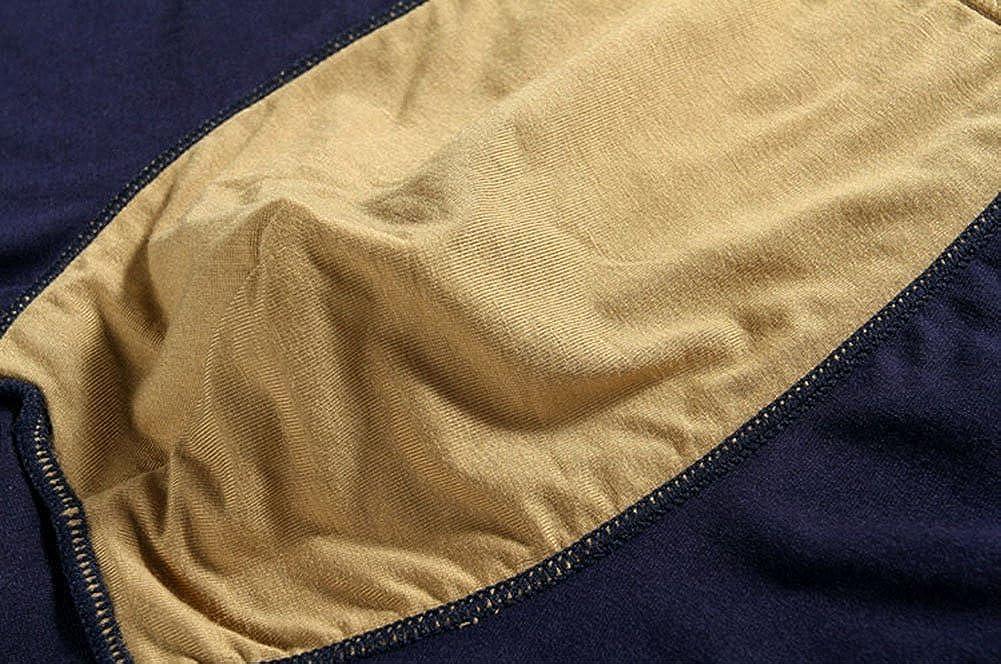 DRASEX Mens Underwear Boxer Briefs 4-Pack Soft Stretch Cotton Underwear for Men