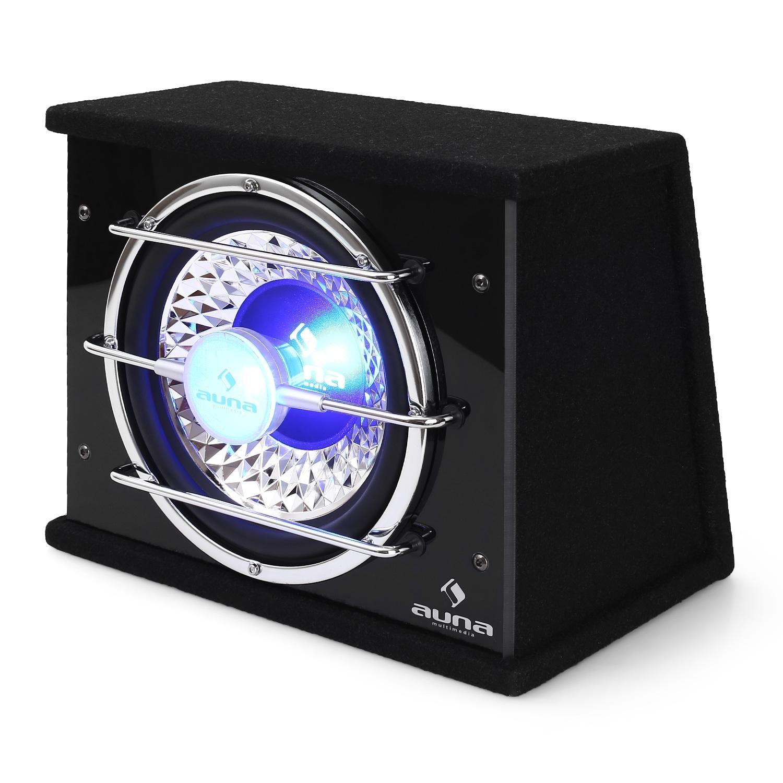 Auna Altavoz de graves 800/W iluminaci/ón LED subwoofer 30/cm
