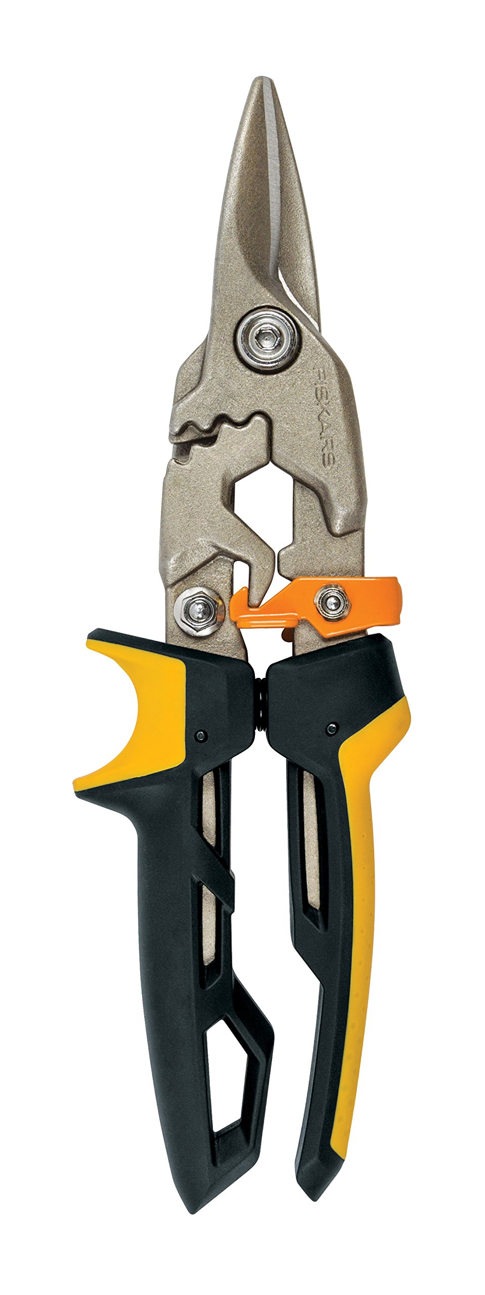 Fiskars PowerGear Aviation Snips (Straight Cut)