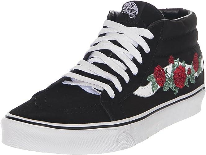 vans rose thorns