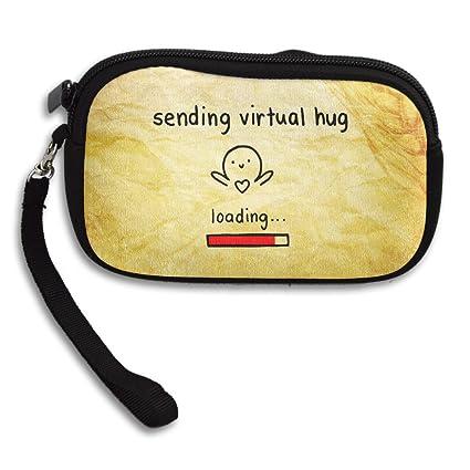 Enviar Virtual Hug Monedero tipo cartera correa de muñeca ...