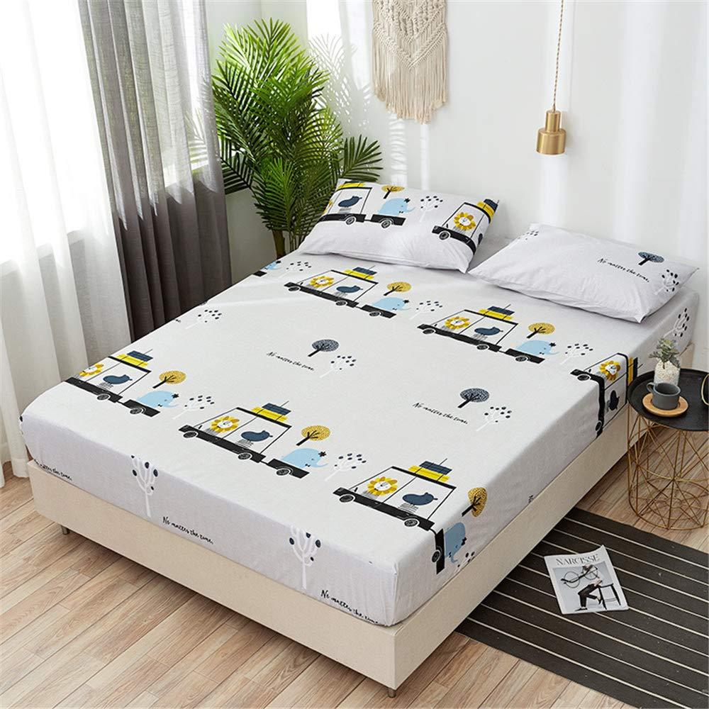 JUNDY Protector de colchón Impermeable de Funda de colchón ...