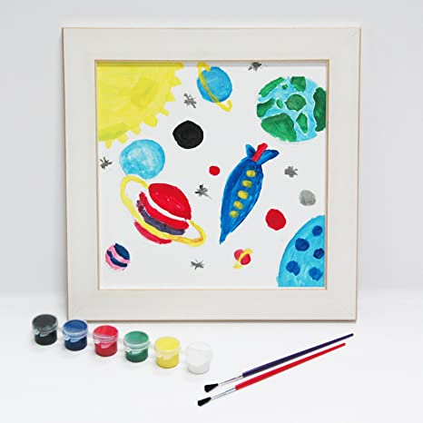 Amazon.com: my art by Kera Frames, kids painting and frame kit ...