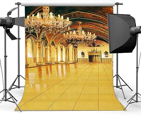 Edcott Luxueux Palais Toile Fond 5x7ft Vinyle Mariage Toiles