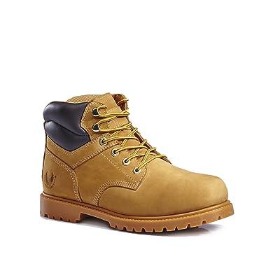 KINGSHOW Men's 1366 Water Resistant Premium Work Boots | Boots