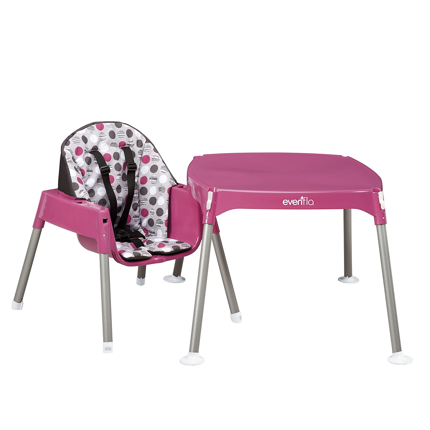 Evenflo Convertible High Chair Dottie Rose 11.6-Pounds