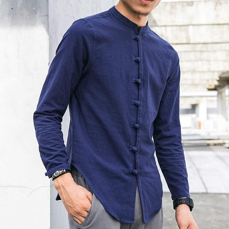 Rawdah_Camisas De Hombre Camisas De Hombre De Vestir Camisas ...