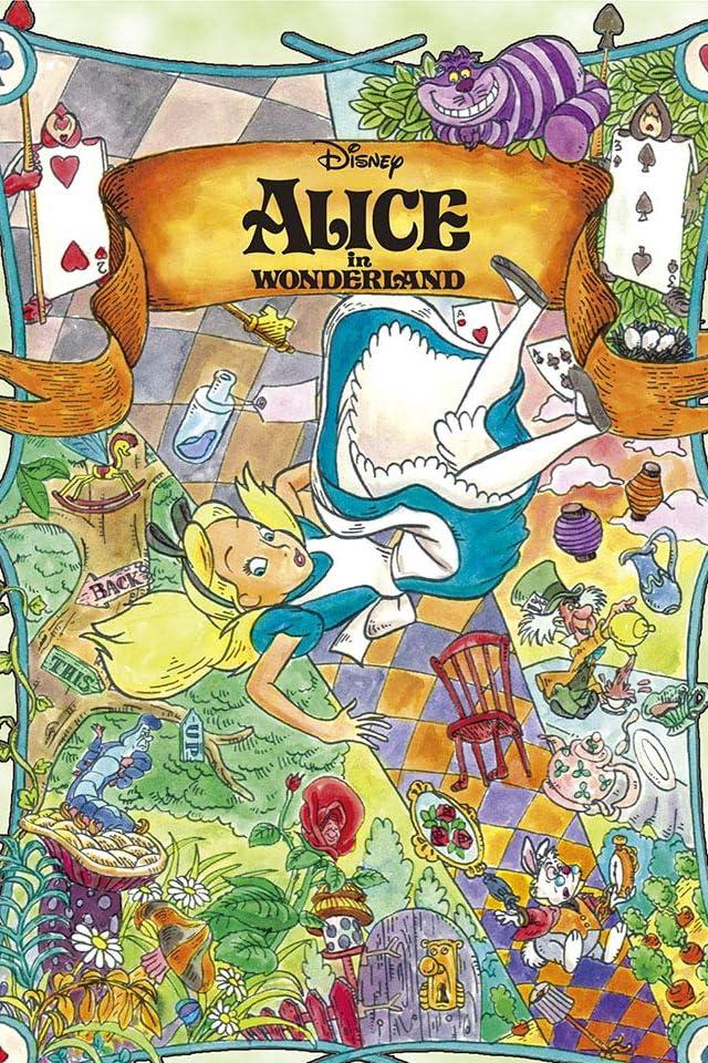 ディズニー 不思議の国のアリス iPhone(640×960)壁紙画像