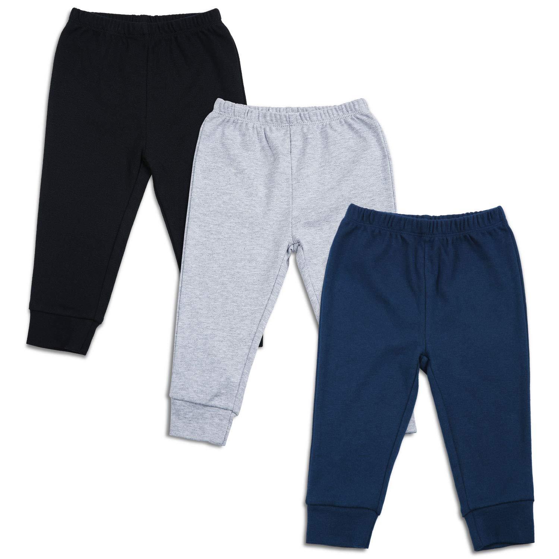 6 Preemie Newborn and Toddler Pants Sizes Navy Blue Unisex Baby Leggings