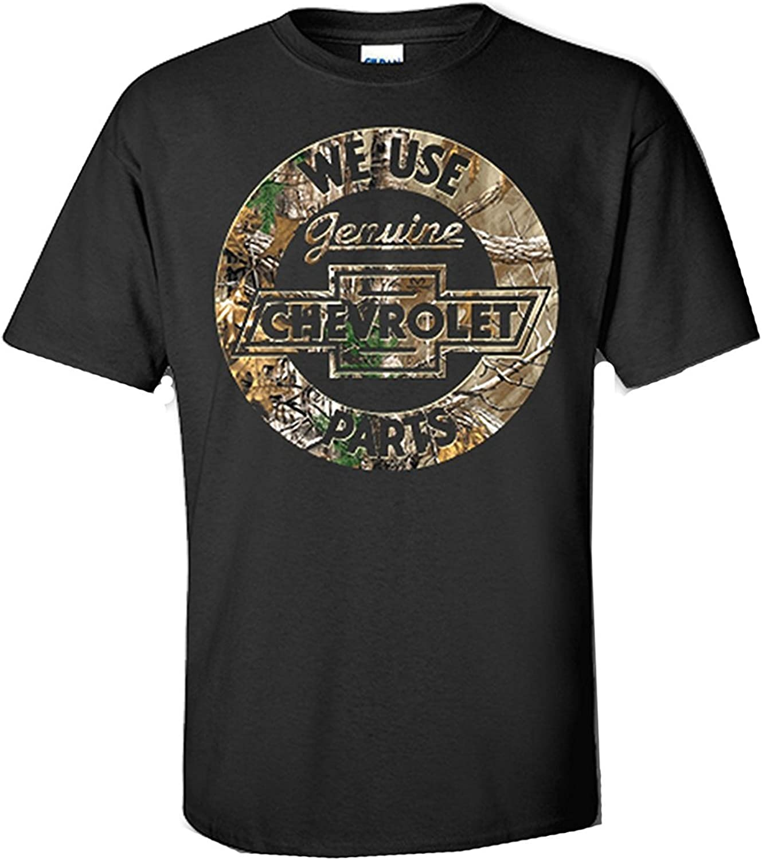 Chevy Shirt Genuine Parts GM Chevrolet Motor Company Logo Mens T-Shirt