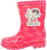 Hello Kitty Girls Fashion Rain Boots Shoes BB (Toddler/Youth)