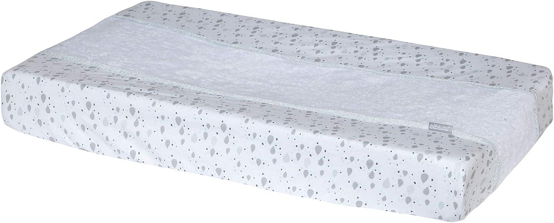 bébé-jou 3014118 Ollie - Funda para cambiador (72 x 44 cm), color blanco
