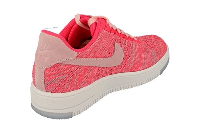 finest selection 91f63 ec8da Amazon.com   NIKE Womens Af1 Air Force 1 Flyknit Low Running Trainers 820256  Sneakers Shoes (UK 4 US 6.5 EU 37.5, Prism Pink 601)   Road Running