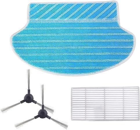 Filter Seitenbürsten Wischtuch Kit Für Proscenic 880T Staub Ablagerungen