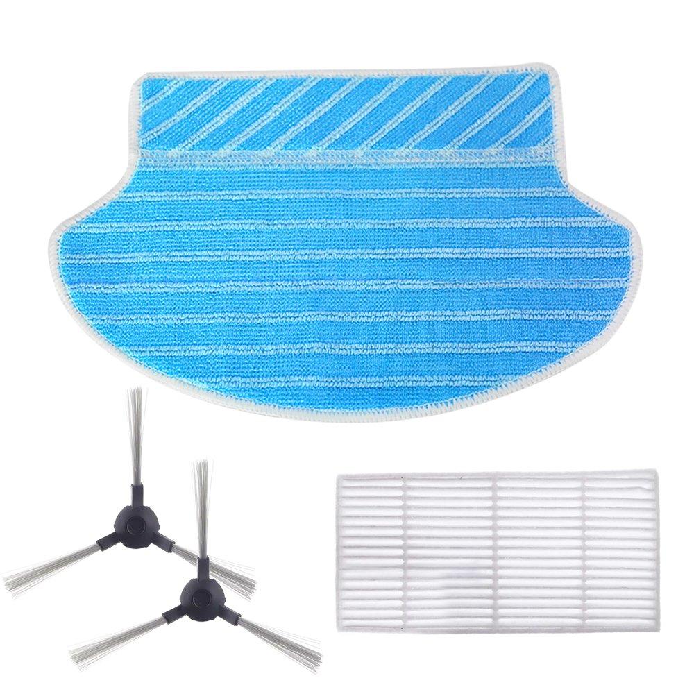 Proscenic 790T Set di accessori (spazzole laterali, filtro HEPA, panno)