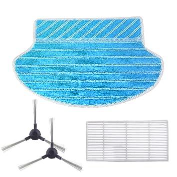 Filter Mop Tuch Seitenbürste Für Proscenic 800T Vakuum Teile Zubehör