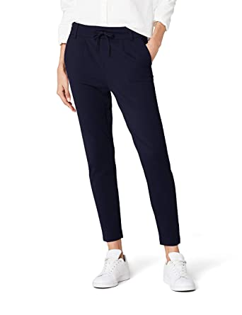 55d2905214249 ONLY Damen Onlpoptrash Easy Colour Pant PNT Noos Hose: Only: Amazon ...