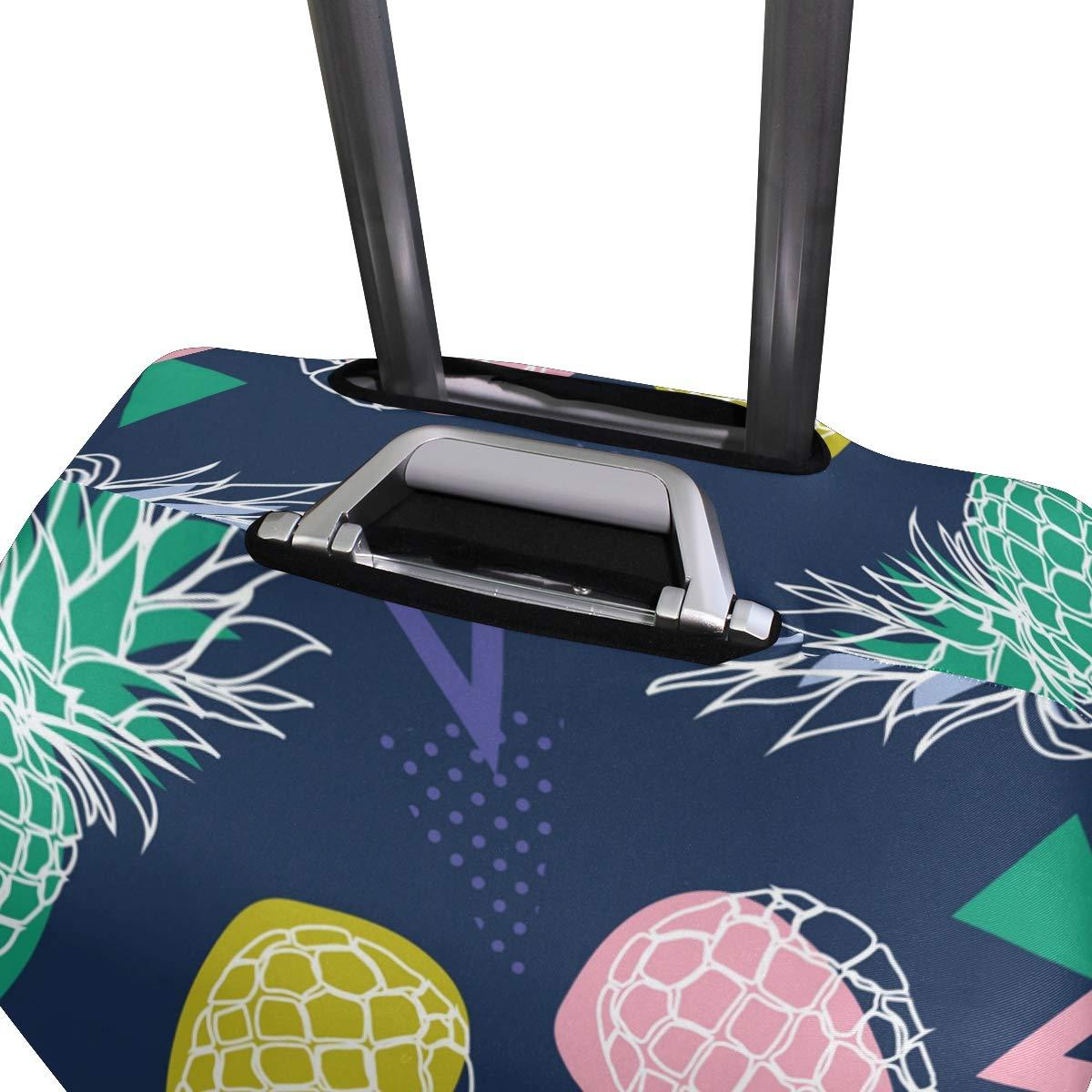 MyDaily Housse de Protection pour Bagage en Spandex Motif Ananas color/é 45,7 /à 81 cm