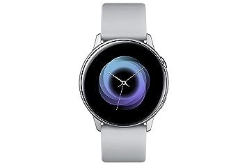 Samsung - Montre Galaxy Watch Active - Argent Polaire - Version Française