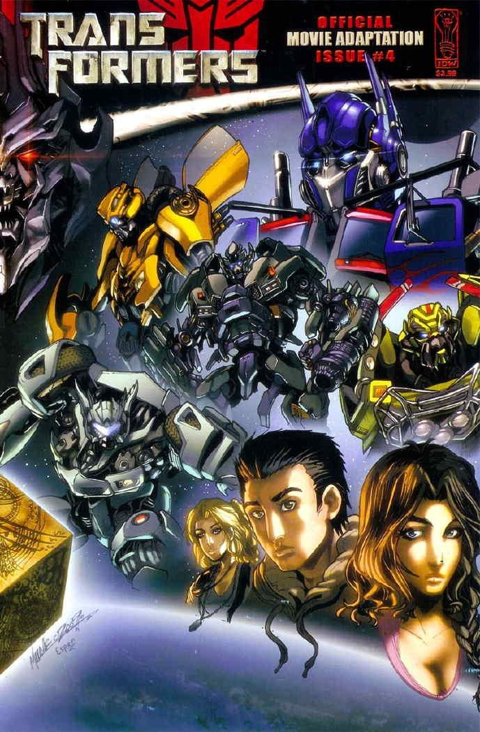 Read Online Transformers Movie Adaptation (2007) # 4 pdf