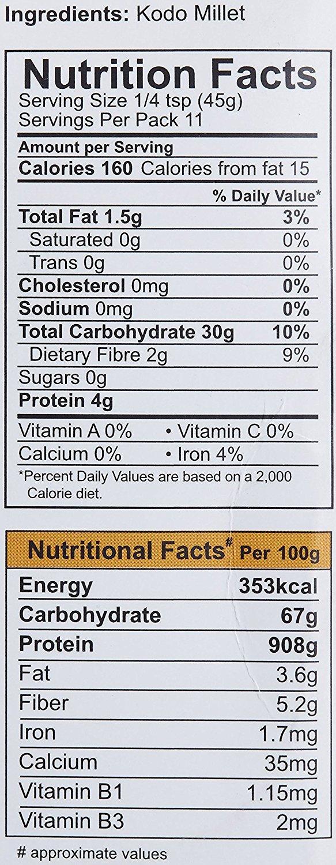 Amazon.com : 24 Mantra Organic Parboiled Kodo Millet - 500 Gms - 2 Pack : Grocery & Gourmet Food