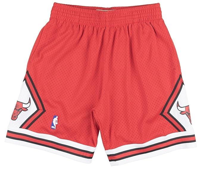 Mitchell /& Ness Chicago Bulls 1997-98 Alternate Swingman Shorts