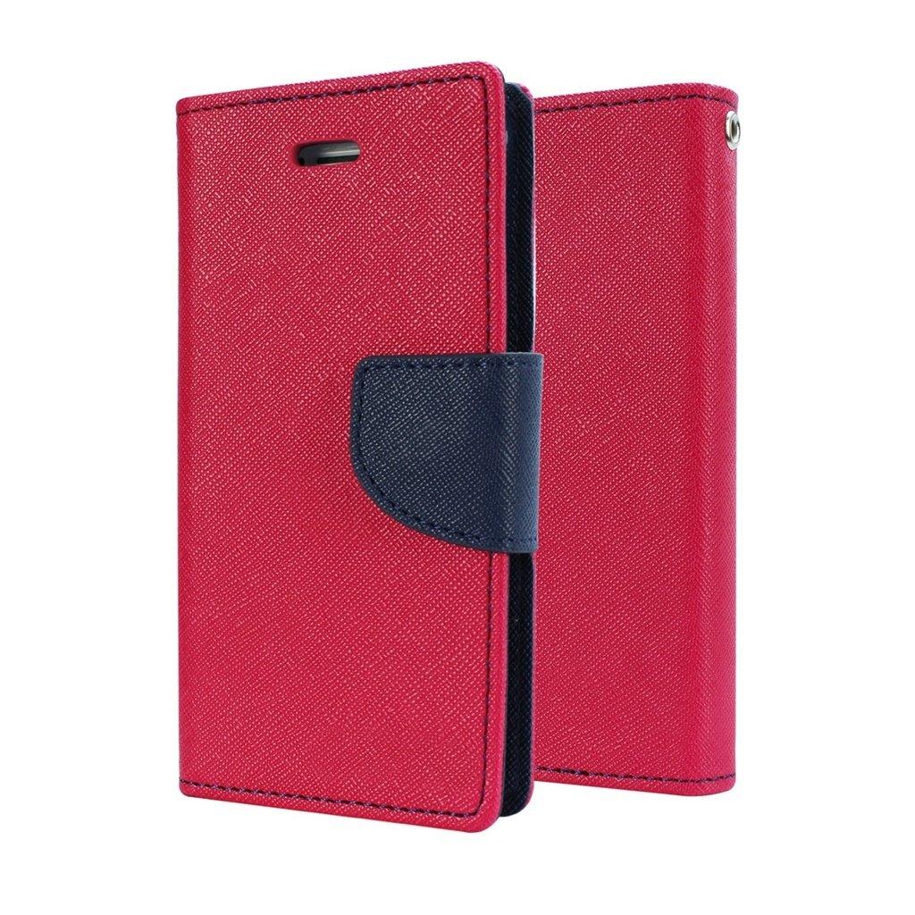 Schofic Premium Fancy Wallet Diary Faux Leather Mobile Goospery Samsung Galaxy J5 Prime Canvas Case Blue Electronics