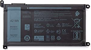 SUNNEAR 51KD7 42Wh Battery Replacement for Dell Chromebook 11 3100 3180 3189 5190 3181 2-in-1 Chromebook 11 3400 Series Laptop FY8XM Y07HK 11.4V 3510mAh
