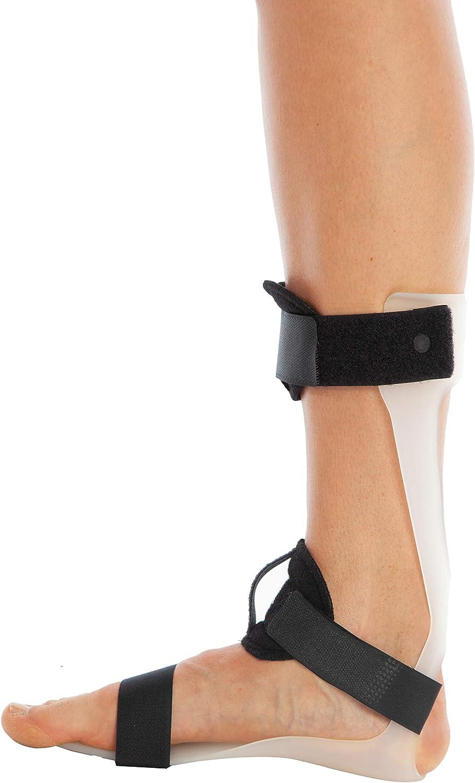 ArmoLine Faja de apoyo para ortesis de pie de gota con dorsi Flexion Assistance ortopédica para hombres y mujeres (derecho, pequeño (2-4.5 UK / 34-37 UE))