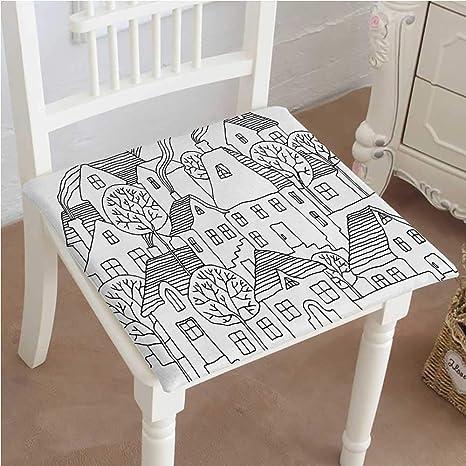 Amazon.com: Mikihome - Cojín para silla de comedor, placa de ...