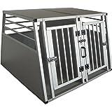 Cool Runners Pro Series Secure Aluminum Double Door Dividable Dog / Pet Travel/Car Crate