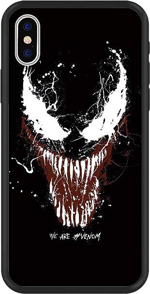 Maycari ibrido custodia cover con design Venom iPhone XS max Pattern 2