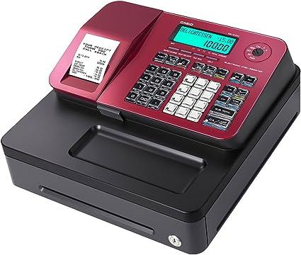 Caja registradora Casio SE-S100 (RED): Amazon.es: Oficina y papelería
