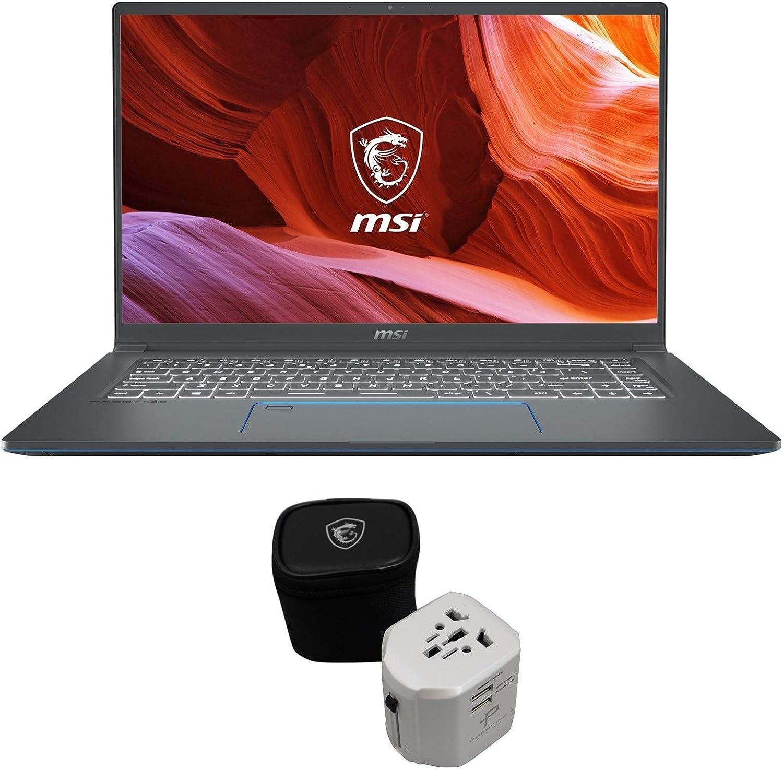 """MSI Prestige 15 A10SC-011 (i7-10710U, 16GB RAM, 512GB NVMe SSD, GTX 1650 4GB, 15.6"""" Full HD, Windows 10 Pro) Professional Laptop"""