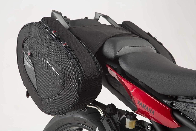 14-17 Yamaha MT-09 Tracer SW-MOTECH BLAZE Satteltaschen-Set Schwarz//Grau