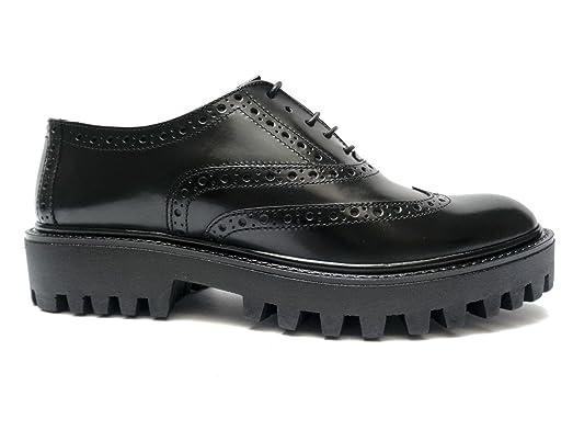 ANTICA CUOIERIA , Chaussures de ville à lacets pour femme multicolore Cuoio/Platino 40