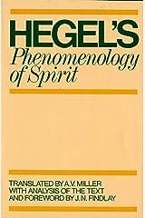 Phenomenology of Spirit Paperback