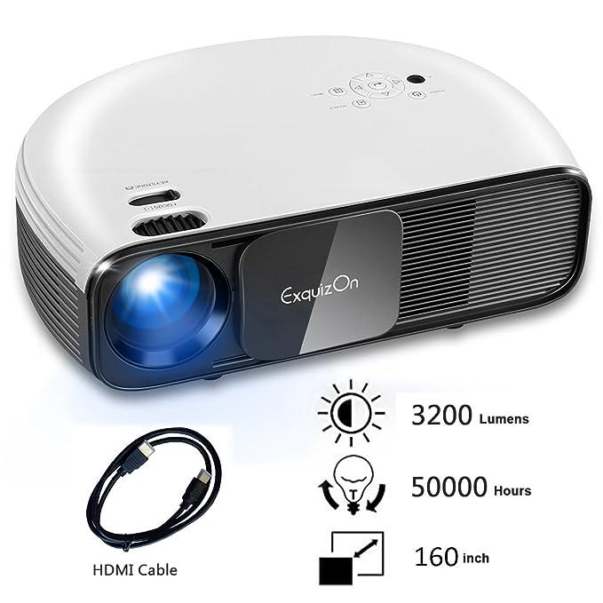 ExquizOn CL760 - LCD LED Proyector Full HD 1080P Versión ...