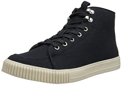 CK Jeans Men's Jenson Canvas Fashion Sneaker, Midnight, ...
