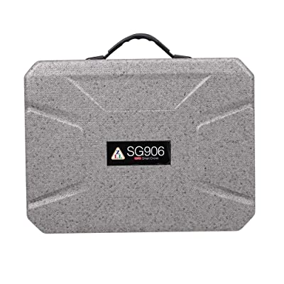 GoolRC Drone Backpack Carrying Case Box Grey Storage Bag for CSJ-X7 Beast SG906 X193 RC Quadcopter: Toys & Games