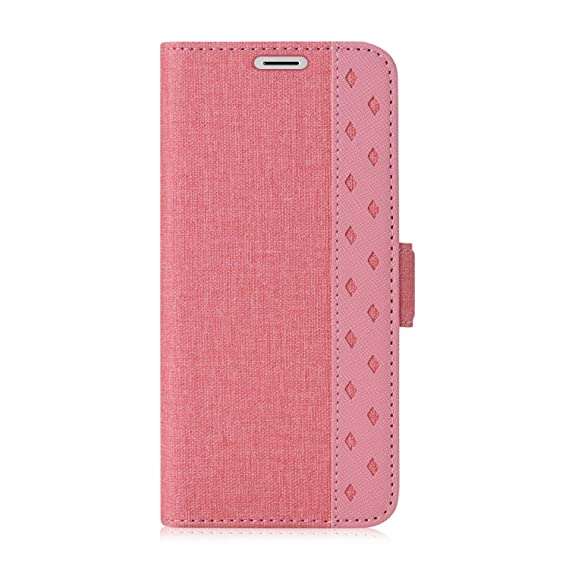 factory price 80d44 ee761 ProCase Galaxy S9 Wallet Case, Folio Folding Wallet Case Flip Cover  Protective Book Case Cover for Galaxy S9 2018 Release, with Card Holders  and ...