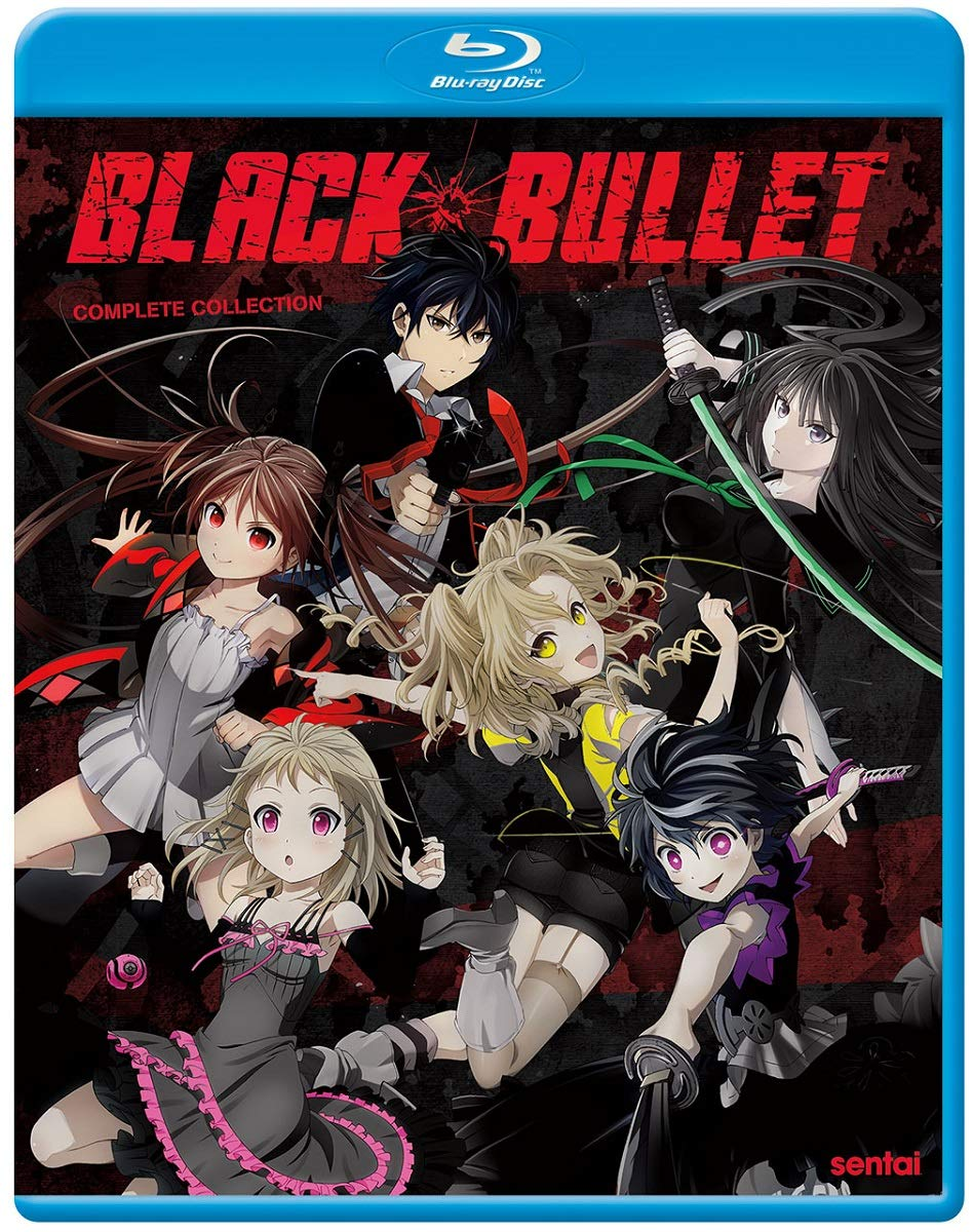Black Bullet Blu-ray (Dual Audio)