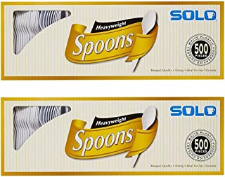 product image for Solo White Heavyweight Spoons, 500 Count (2 Pack)