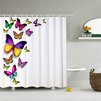 Image Unavailable Not Available For Color Hookless Shower Curtain