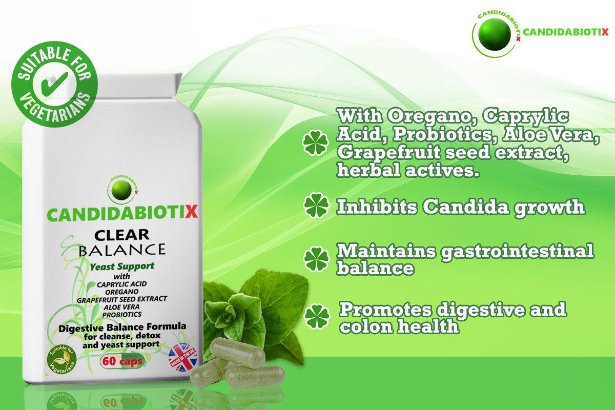 Candida probiotic herbal store buy - Yeast Cleanse With Probiotics Oregano Caprylic Acid Aloe Vera Grapefruit Seed Extract Garlic Broad Spectrum Candida Support