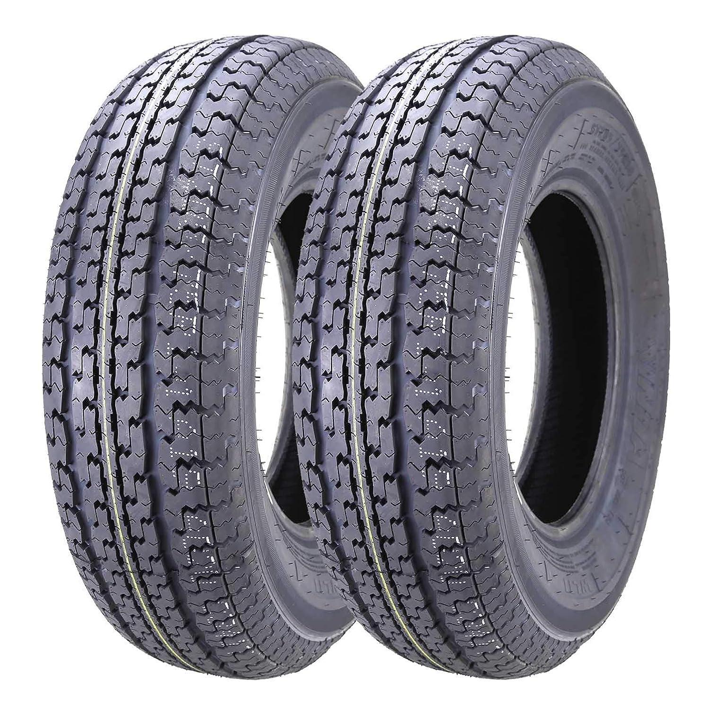 2 New Durun Trailer Tires ST 225/75R15 10PR Load Range E Grand Ride