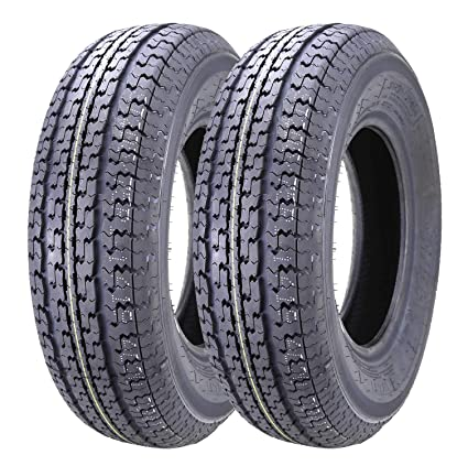 Amazon Com 2 New Trailer Tires St 205 75r14 8pr Load Rangd D