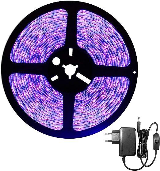 Schwarzlicht Strip 5 m Effektbeleuchtung incl.Netzteil